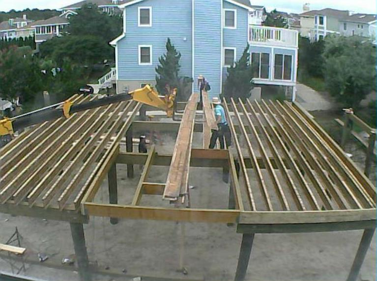 Floor joists are set on first floor 8 sandpiper Floor trusses vs floor joists